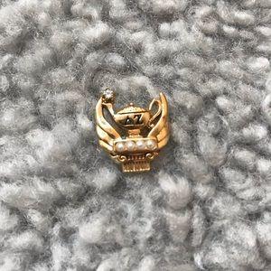 Jewelry - Delta Zeta Sorority Badge / Pin